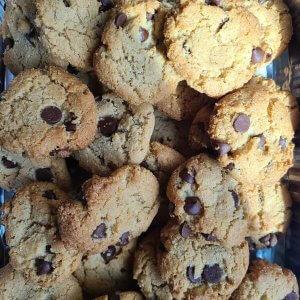 עוגיות שוקולד ציפס ללא גלוטן